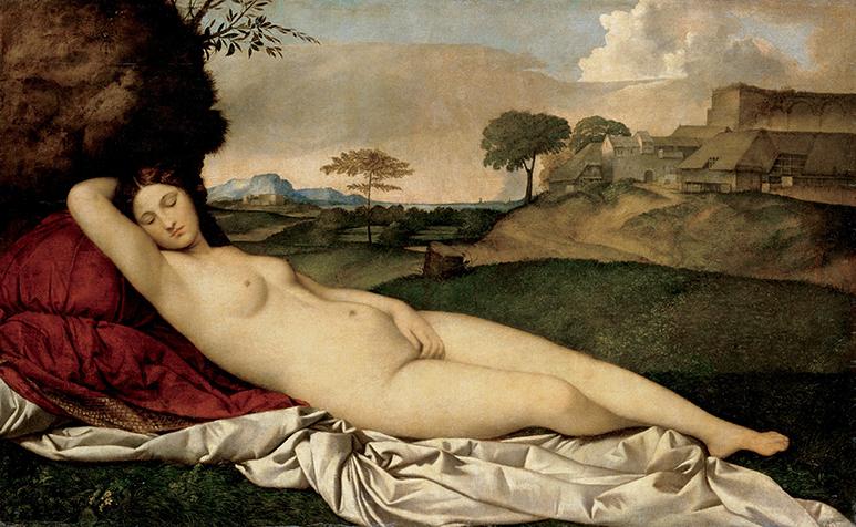 Giorgione-Sleeping_Venus